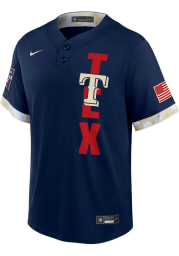 Joey Gallo Texas Rangers Mens Replica All-Star Replica Jersey - Navy Blue