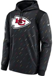 Nike Kansas City Chiefs Mens Grey CRUCIAL CATCH Hood