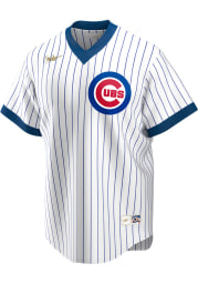 Chicago Cubs Nike Throwback Cooperstown Jersey - White