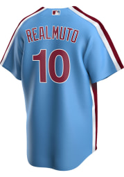 JT Realmuto Philadelphia Phillies Mens Replica Throwback Jersey - Light Blue