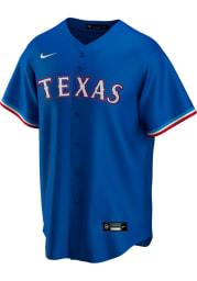 Texas Rangers Mens Nike Replica Replica Alt Jersey - Blue