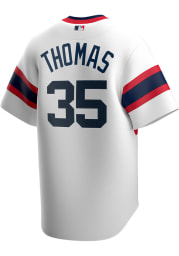 Frank Thomas Chicago White Sox Mens Replica 2020 Throwback Jersey - White