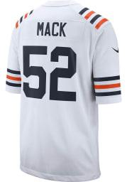 Khalil Mack Nike Chicago Bears White Away Game Football Jersey