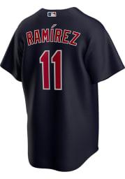 Jose Ramirez Cleveland Indians Mens Replica Alternate Replica Jersey - Navy Blue