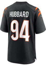 Sam Hubbard Nike Cincinnati Bengals Black Home Game Football Jersey