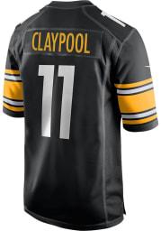 Chase Claypool Nike Pittsburgh Steelers Black Home Game Football Jersey