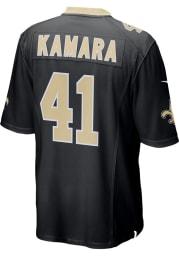 Alvin Kamara Nike New Orleans Saints Black Home Game Football Jersey