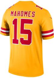 Patrick Mahomes Nike Kansas City Chiefs Gold Inverted Legend Football Jersey