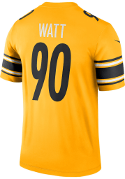 TJ Watt Nike Pittsburgh Steelers Gold Inverted Legend Football Jersey