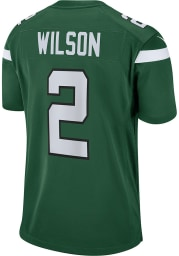 Zach Wilson Nike New York Jets Green Home Game Football Jersey