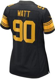 TJ Watt Nike Pittsburgh Steelers Womens Black Alternate Game Football Jersey