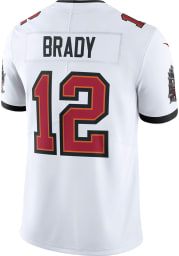 Tom Brady Nike Tampa Bay Buccaneers Mens White Road Limited Football Jersey