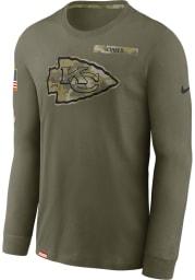 Nike Kansas City Chiefs Olive Salute To Service Long Sleeve T-Shirt