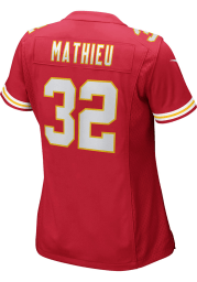 Tyrann Mathieu Nike Kansas City Chiefs Womens Red Home Game Football Jersey