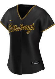Pittsburgh Pirates Womens Nike Replica Away Jersey - Black