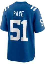 Kwity Paye Nike Indianapolis Colts Blue Home Game Football Jersey