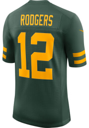 Aaron Rodgers Nike Green Bay Packers Mens Green Home Limited Football Jersey
