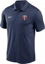 Nike Minnesota Twins Mens Navy Blue Franchise Polo Short Sleeve Polo