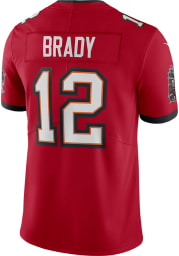 Tom Brady Nike Tampa Bay Buccaneers Mens Red Home Limited Football Jersey