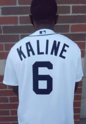 Al Kaline Detroit Tigers Mens Replica 2020 Home Jersey - White