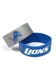 Detroit Lions 2 Pack Silicone Kids Bracelet