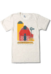 Bozz Prints Kansas Oatmeal Made in the Midwest Short Sleeve T Shirt