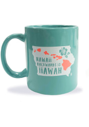 Iowa Hawaii Backward Mug