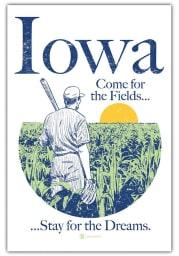Iowa Come For The Fields Postcard