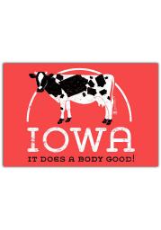 Iowa Does A Body Good Postcard