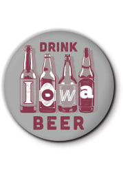 Iowa Drink Beer Coaster