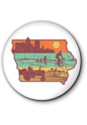 Iowa Layers of Iowa Coaster