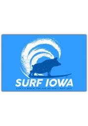 Iowa Surf Iowa Postcard