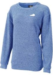 Kentucky Womens Royal State Shape Long Sleeve Crew Sweatshirt