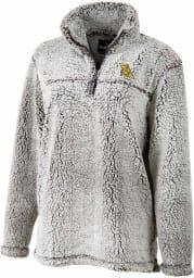 Missouri Western Griffons Womens Grey Sherpa 1/4 Zip Pullover