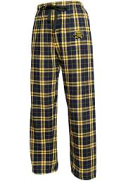 Wichita State Shockers Womens Black Flannel Loungewear Sleep Pants
