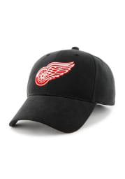 47 Detroit Red Wings Black Basic MVP Adjustable Toddler Hat
