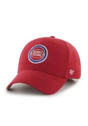 47 Detroit Pistons Baby Basic MVP Adjustable Hat - Red