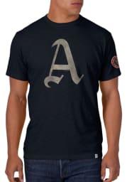47 Philadelphia Athletics Grey 1914 Scrum Short Sleeve Fashion T Shirt