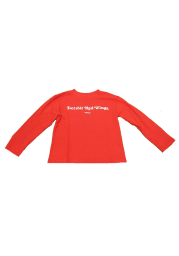 Detroit Red Wings Boys Red Boys 4-7 Rally Loud Long Sleeve T-Shirt