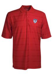 Antigua Pennsylvania Quakers Mens Red Tone Short Sleeve Polo