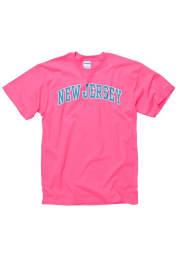 New Jersey Pink Neon Arch Short Sleeve T Shirt