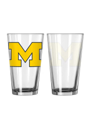 Michigan Wolverines M Logo Pint Glass