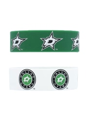 Dallas Stars 2 Pack Silicone Kids Bracelet