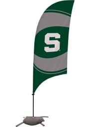 Michigan State Spartans 7.5 Foot Cross Base Tall Team Flag