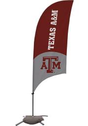 Texas A&M Aggies 7.5 Foot Cross Base Tall Team Flag