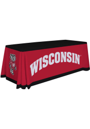 Wisconsin Badgers 6 Ft Fabric Tablecloth