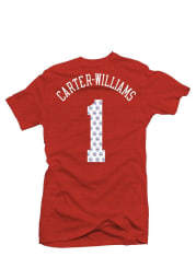 Michael Carter-Williams Philadelphia 76ers Womens Red Tri-Blend Player T-Shirt