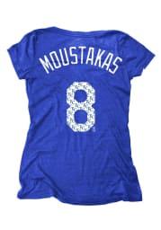 Mike Moustakas Kansas City Royals Womens Blue Player Player T-Shirt