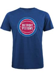 Detroit Pistons Blue Record Holder Short Sleeve Fashion Player T Shirt
