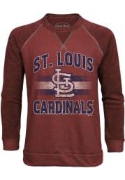 St Louis Cardinals Mens Red Team Pride Long Sleeve Fashion Sweatshirt